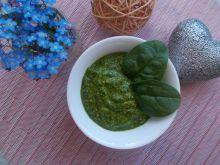 Pesto szpinakowe (vege)