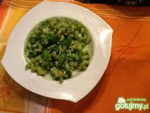 Pesto ze szpinaku,awokado i bazylii