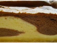 Piankowy sernik migdałowo-kakaowy