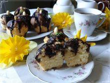 Piaskowe muffinki marmurkowe