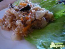 Piątkowe risotto z suszonymi grzybami
