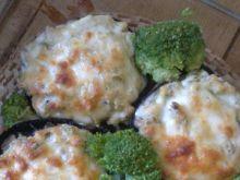 Pieczarki faszerowane brokułami