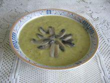 Pieczarkowa zupa krem z curry