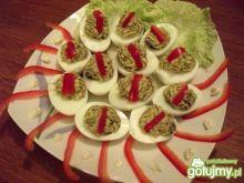 Pieczarkowe jajka