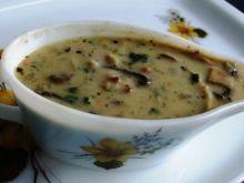 Pieczarkowo-smietanowy sos