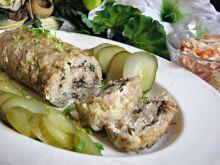 Pieczeń cebulowo – grzybowa