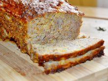Pieczeń indycza z marchewką i otrębami pszennymi