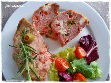 Pieczeń rzymska z fetą i papryką