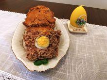 Pieczeń wielkanocna z jajkiem