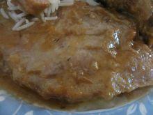Pieczen wieprzowa w sosie miodowym