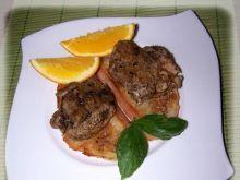 Pieczeń wieprzowa z ziołami po portugals