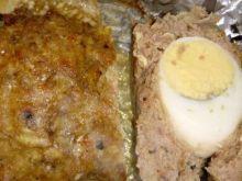 Pieczeń z jajkiem