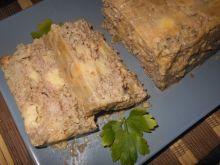 Pieczeń z mięsa mielonego z serem