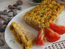 Pieczeń z szynki z ziemniaczanym puree