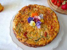Pieczona frittata z warzywami, ricottą bez glutenu