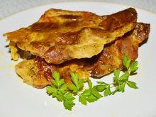 Pieczona karkówka w majonezie i musztardzie