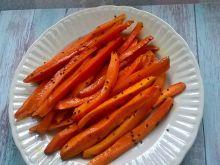 Pieczona marchewka