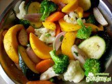 Pieczona mieszanka warzyw