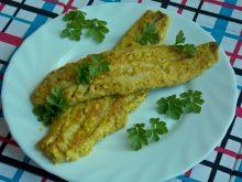 Pieczona miruna w sosie curry