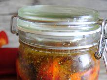 Pieczona papryka w oleju