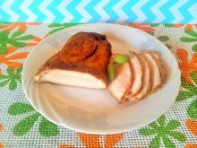 Pieczona pierś z kurczaka w rękawie