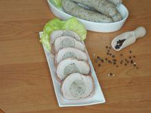 Pieczona polędwiczka wieprzowa z białą kiełbasą
