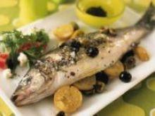 Pieczona ryba w folii aluminiowej