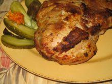 Pieczona szynka wieprzowa