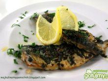 Pieczone filety z makreli