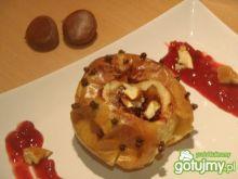 Pieczone jabłka z kasztanami