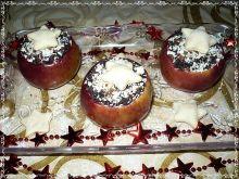 Pieczone jabłka z kutią