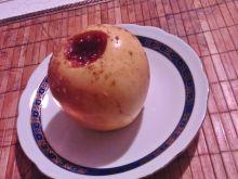 Pieczone jabłka z powidłami