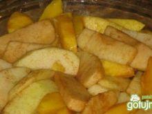 pieczone jabłuszka