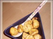 Pieczone kasztany w sosie miodowym