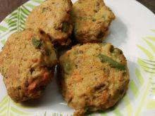 Pieczone kotleciki kalafiorowo-marchewkowe