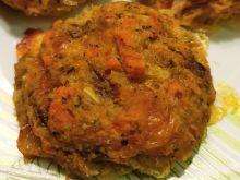 Pieczone kotleciki warzywno-rybne