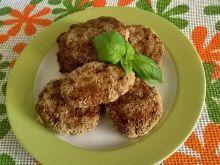 Pieczone kotlety mięsno - pieczarkowe