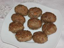 Pieczone kotlety wieprzowo-wołowe