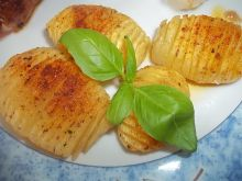 Pieczone młode ziemniaczki