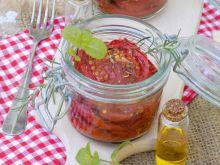 Pieczone pomidory w oliwie i ziołach