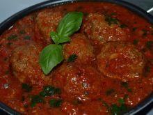 Pieczone pulpeciki w sosie pomidorowym