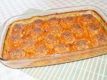 Pieczone pulpeciki z ryżem w sosie