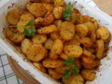 Pieczone talarki z młodych ziemniaków