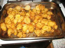 Pieczone talarki z ziemniaków