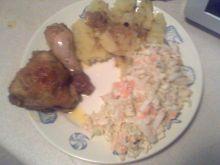 Pieczone udka na niedzielny obiad