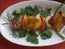 Pieczone ziemniaczane szaszłyki