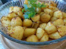 Pieczone ziemniaczki z octem balsamicznym