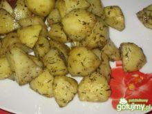 Pieczone ziemniaczki z tymiankiem.