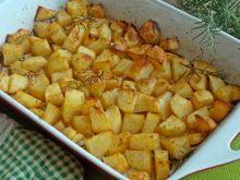 Pieczone ziemniaki do obiadu