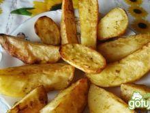 Pieczone ziemniaki prawie bez tłuszczu.